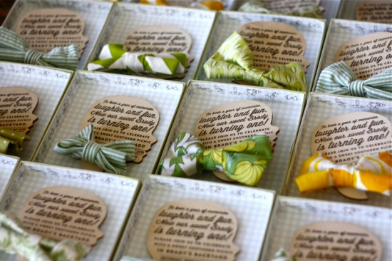 Birthday Party Invitations by Emily Ley via Oh So Beautiful Paper