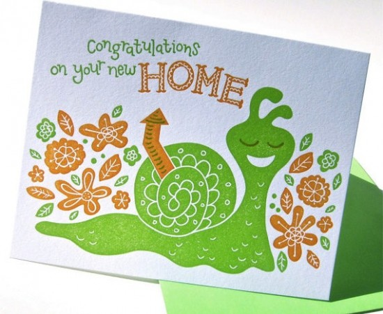 New Home Congratulations Card by Pup and Pony Press