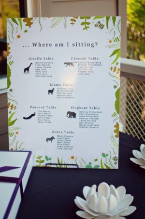 Day-Of Wedding Stationery Inspiration and Ideas: Animal Motifs via Oh So Beautiful Paper (9)
