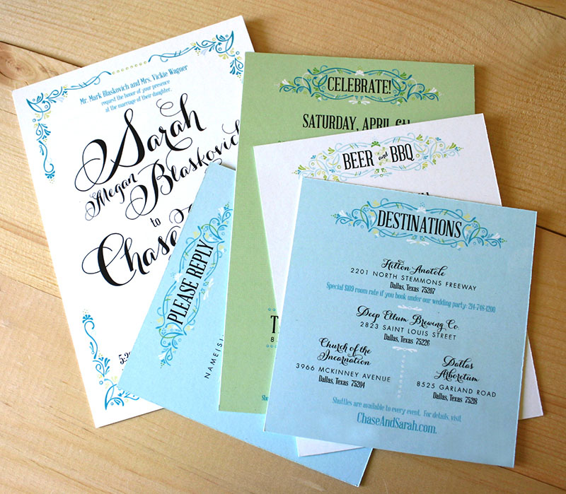 Sarah Chases Texas Garden Party Wedding Invitations – Garden Party Wedding Invitations