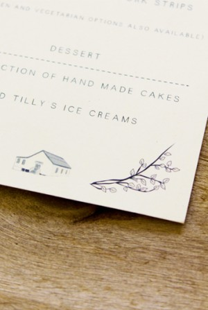 Illustrated South African Wedding Invitations by Bells + Whistles via Oh So Beautiful Paper (5)