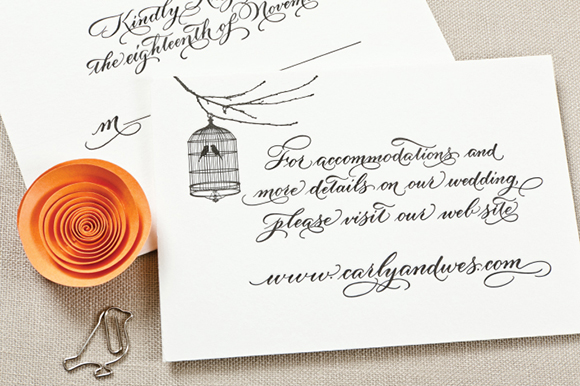 Calligraphy Inspiration: MM Ink