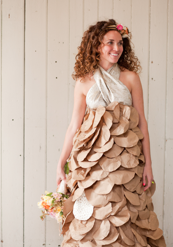 Paper Dress Inspiration From Paper Posy Designs