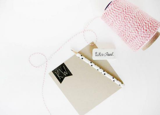 La Happy Calligraphy Paper Goods via Oh So Beautiful Paper (8)