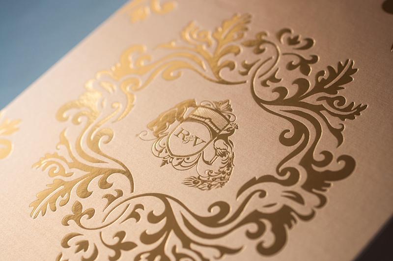 Laser Cut Wedding Invitations 28 Marvelous Lasercut and Gold Foil
