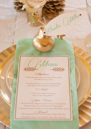 Day-Of Wedding Stationery Inspiration and Ideas: Mint via Oh So Beautiful Paper (2)