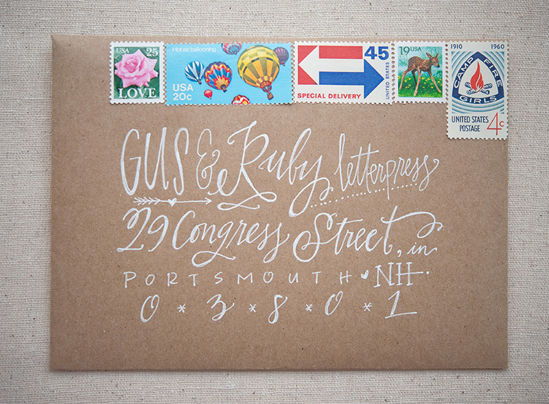 Wedding Invitation Stamps