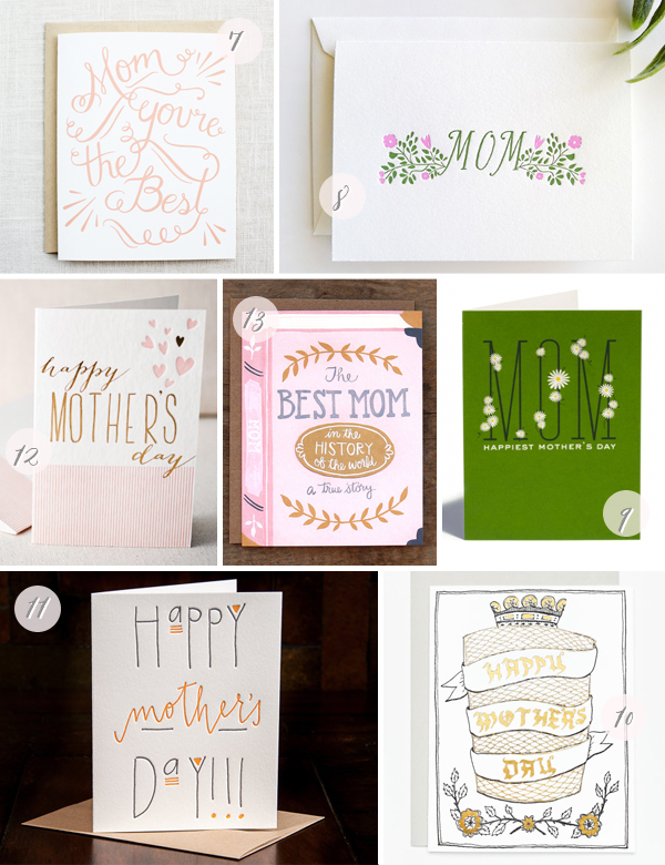 The Best Mother's Day Cards via Oh So Beautiful Paper, Part 2