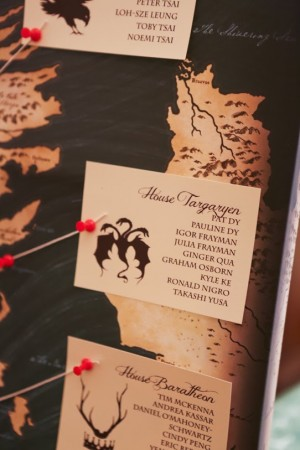 Game of Thrones Wedding Invitations from Lion in the Sun via Oh So Beautiful Paper (2)