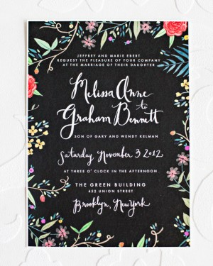 Creative and Whimsical DIY Wedding Invitations and Save the Dates via Oh So Beautiful Paper (5)