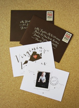 Virginia is for Lawlers Moving Announcements by Snow & Ivy and La Happy via Oh So Beautiful Paper (5)