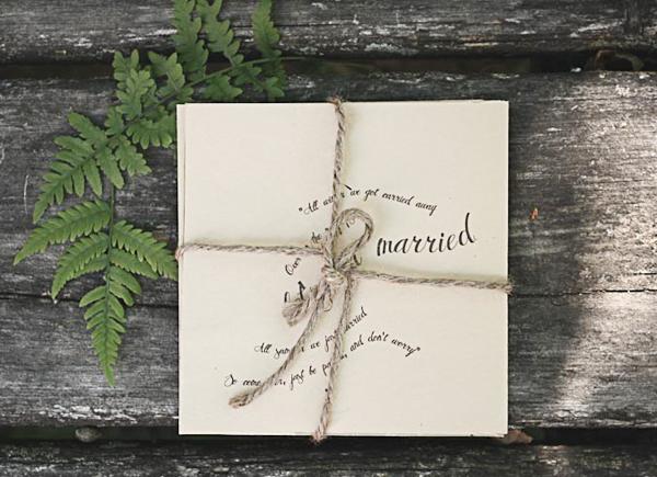 Nature-Inspired Wedding Invitations by Belinda Love Lee via Oh So Beautiful Paper (7)