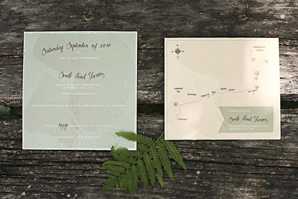 Nature-Inspired Wedding Invitations by Belinda Love Lee via Oh So Beautiful Paper (1)