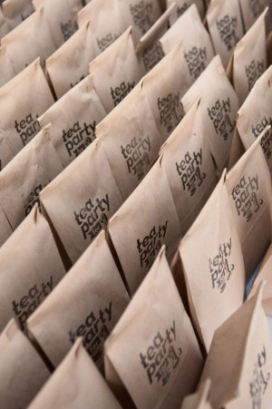 Day-Of Wedding Stationery Inspiration and Ideas: Treat Bags via Oh So Beautiful Paper (12)