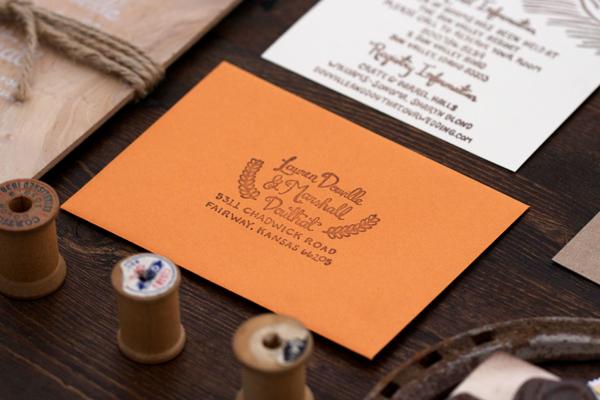 Wood-Orange-Sun-Valley-Wedding-Invitations-Lovely-Paper-Things7