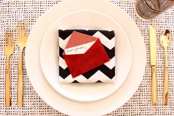 DIY Mini Love Letter Placecards OSBP 11