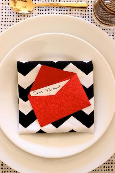 DIY Mini Love Letter Placecards OSBP 15