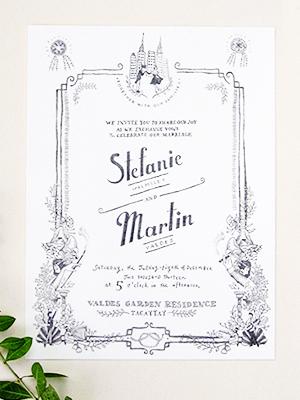 Whimsical-Black-White-Illustrated-Wedding-Invitations-Paulina-Ortega2
