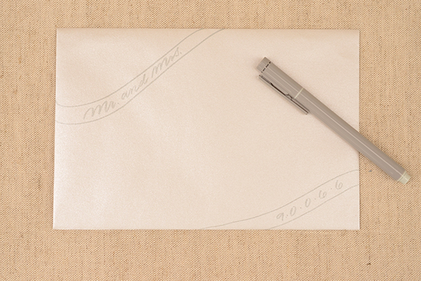 DIY Envelope Addressing Styles by Antiquaria via Oh So Beautiful Paper