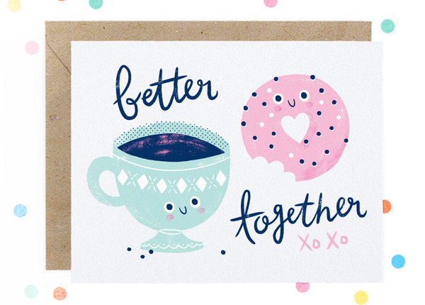 Hooray-Today-Coffee-Donuts-Love-Card