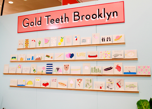 OSBP NSS 2014 Gold Teeth Brooklyn 1 National Stationery Show 2014, Part 11