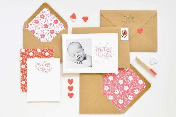 Floral-Letterpress-Baby-Announcements-Lauren-Chism-OSBP