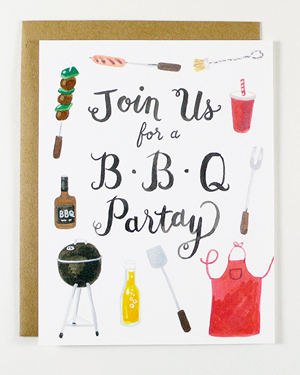 Four-Wet-Feet-Illustrated-Fill-In-Party-Invitations-BBQ