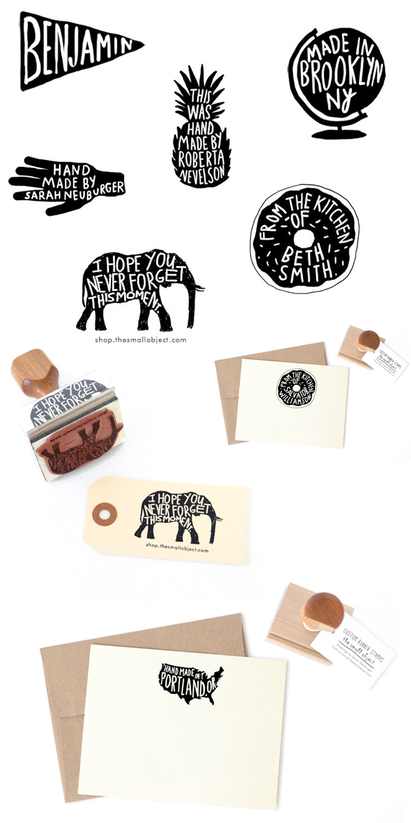 Quick Pick The Small Object Rubber Stamps