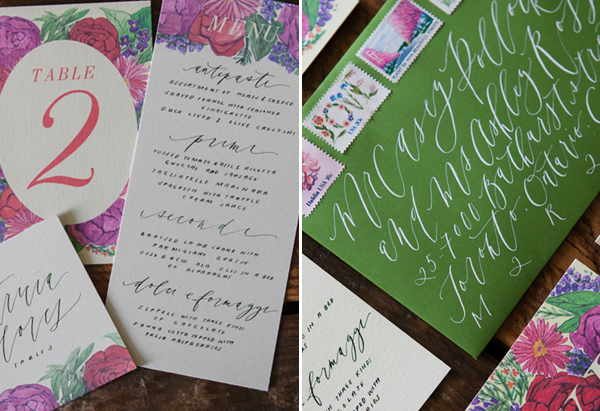Calligraphy Inspiration: Written Word Calligraphy + Design via Oh So Beautiful Paper