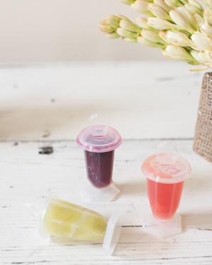 Summer Frozen Cocktail Party Inspiration by Oh So Beautiful Paper / Photo by Sweet Root Village