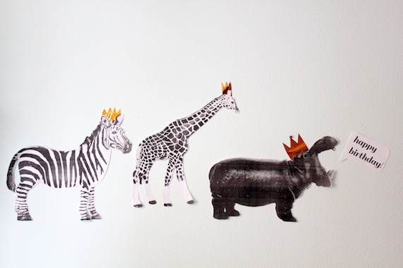 Modern Takes on Classic Kid's Party Themes via Oh So Beautiful Paper
