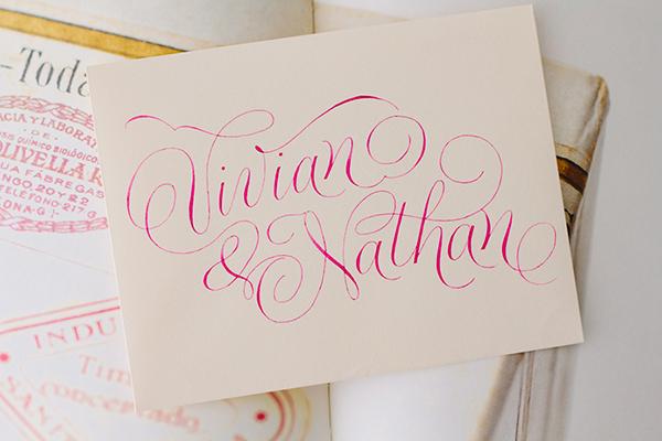 Calligraphy Inspiration: petitserif via Oh So Beautiful Paper