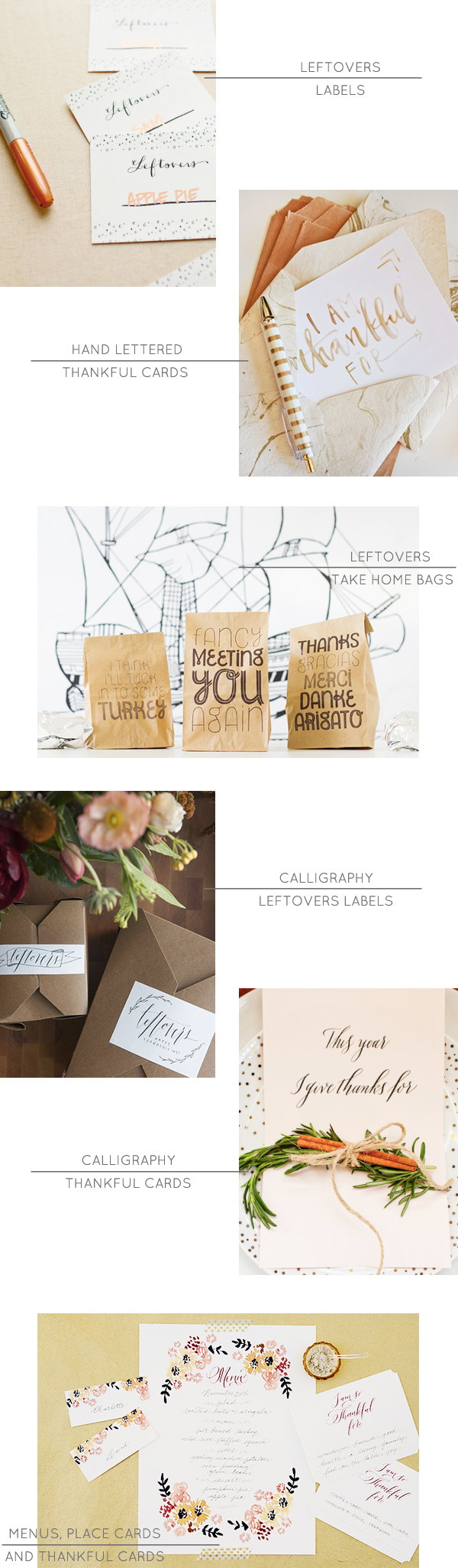 Thanksgiving Printables via Oh So Beautiful Paper