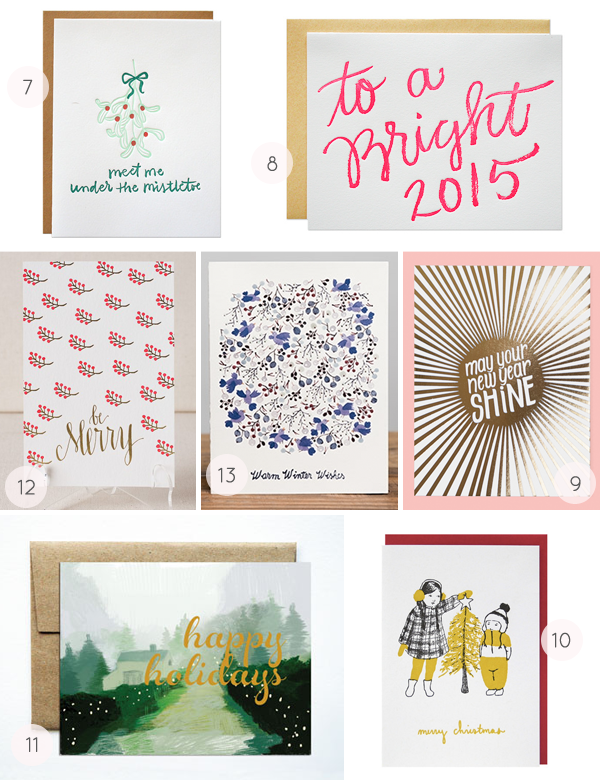 2014 Holiday Card Round Up by Oh So Beautiful Paper