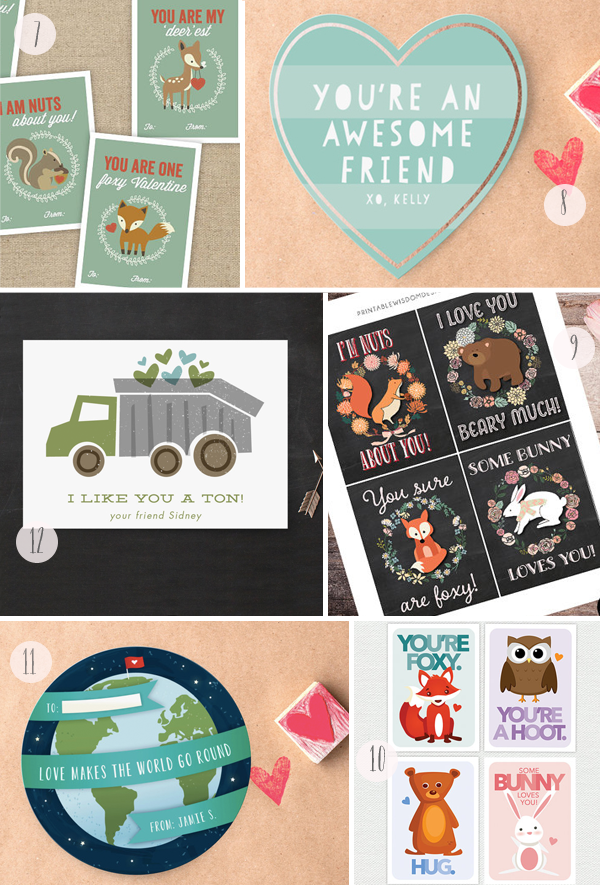 2015 Classroom Valentines Round Up Curated by Oh So Beautiful Paper