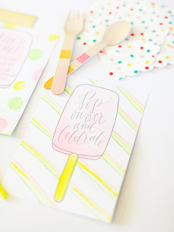 Watercolor-Calligraphy-Popsicle-Birthday-Party-Invitations-Maison-Everett-OSBP2