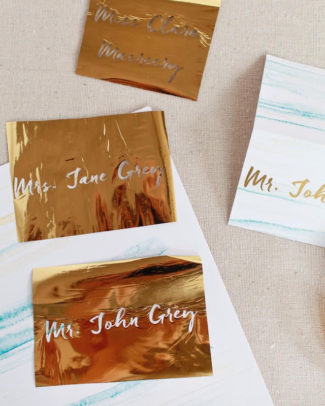 place cards templates