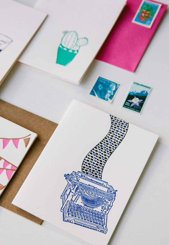 Behind the Stationery: Underwood Letterpress / Oh So Beautiful Paper