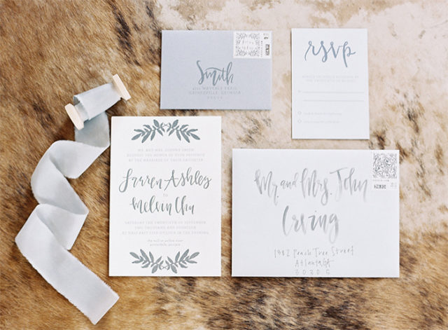 Brush Calligraphy by Lauren Saylor of A Fabulous Fete / Oh So Beautiful Paper