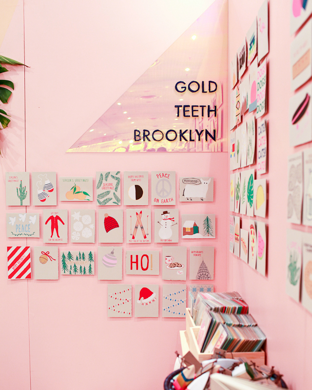 Gold Teeth Brooklyn at NYNOW Summer 2015 / Oh So Beautiful Paper