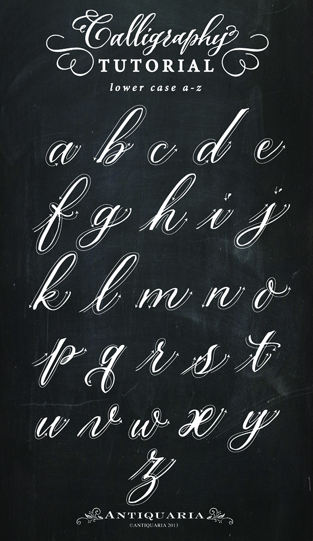 Getting Started in Calligraphy / Antiquaria for Oh So Beautiful Paper
