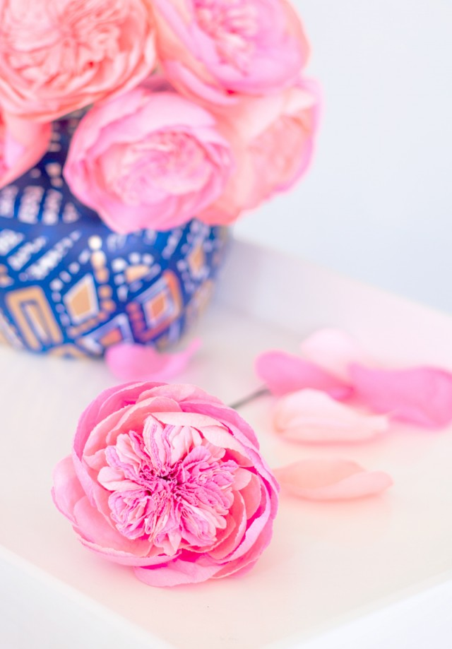 Paper flowers archives oh so beautiful paper fresh cut paper flowers david austin roses mightylinksfo