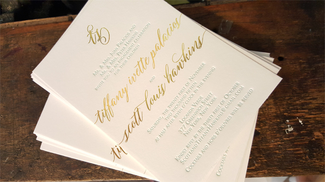 Behind the Stationery: Dancing Pen and Press / Oh So Beautiful Paper