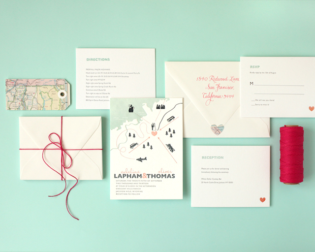 Minted Letterpress Wedding Invitations and Print Shop Tour / Oh So Beautiful Paper