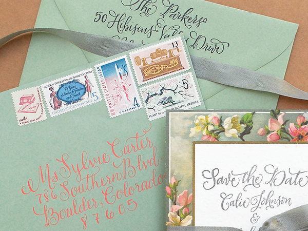 How to Use Vintage Stamps / Antiquaria Design