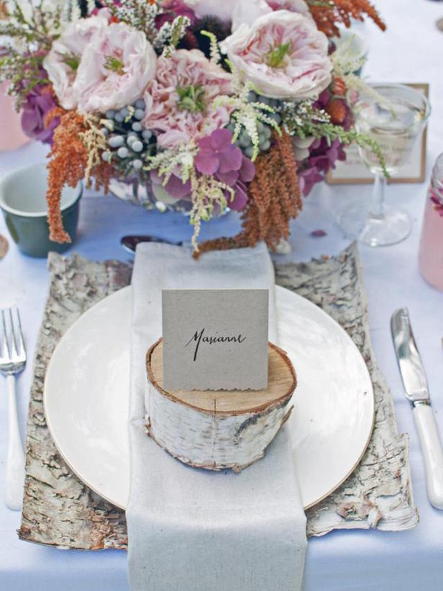 Wedding Stationery Inspiration: Fall Wedding Details / Oh So Beautiful Paper