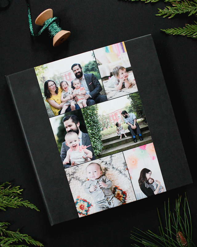 Annual Family Photo Books for the Holidays with Montage / Oh So Beautiful Paper