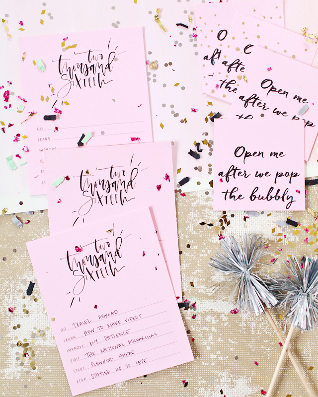 New Year's Eve Party Printables / Oh So Beautiful Paper