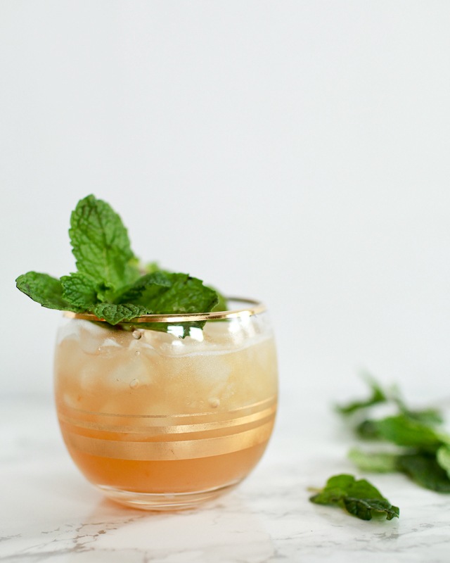 Apricot Tiki Mocktail Recipe / Liquorary for Oh So Beautiful Paper