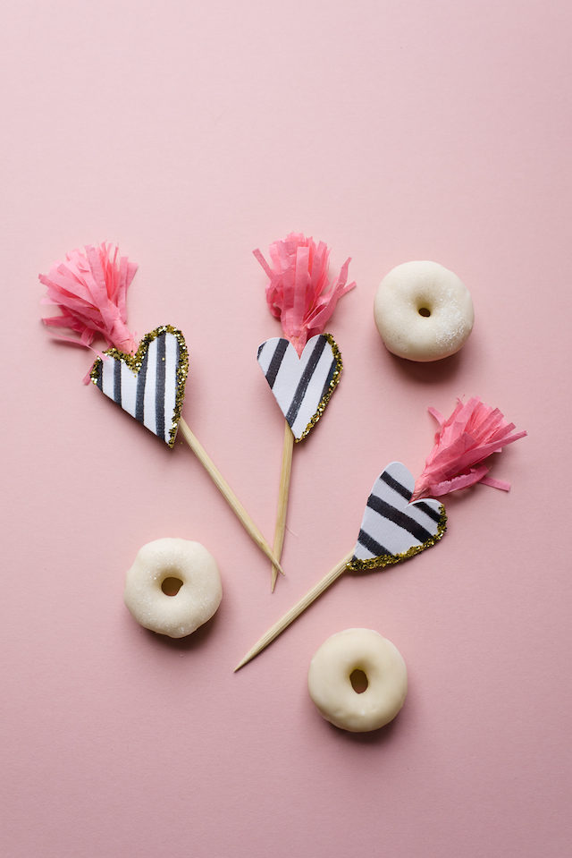 DIY Donuts About You Toppers / BerinMade for Oh So Beautiful Paper